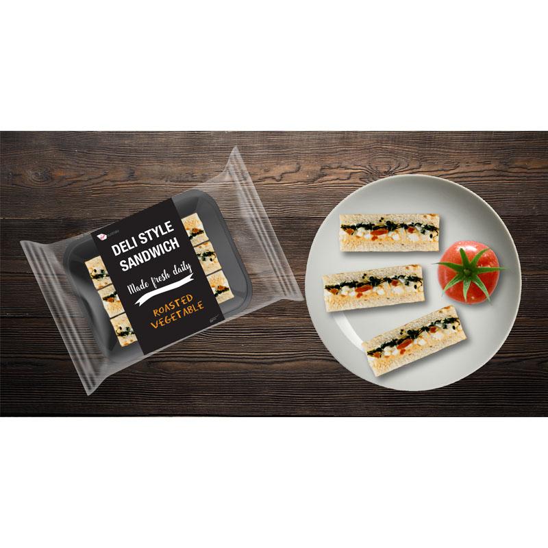 deli style fresh sandwich trio